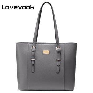 LOVEVOOK handbag shoulder bag office ladies large laptop tote for 14 15. 6 inch luxury handbags women bags design Q1129
