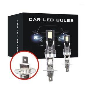 2x H1 110W Haute Puissance Bouge de lumière Bouche de brouillard H1 Bulb 6000k voiture LED Phare LED Lampe1