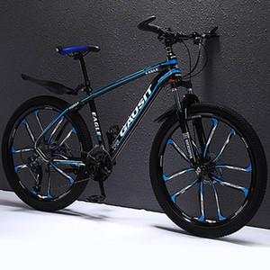 Alliage d'aluminium Vélo de montagne Absorption de l'amortisseur Cross-Country Ultra-Light Huile à 27 vitesses Discours Variable Racing Homme et Femme Young