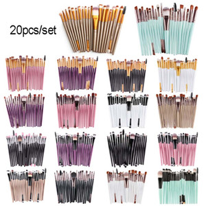Cosmetic Makeup Brushes Set Powder Foundation Eyeshadow Eyeliner Lip Brush Tool Brand Make Up Brushes Beauty Tools Party Supplies HH9-3731