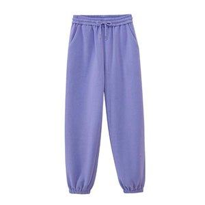 Jodimitty Womens Tracksuits Sweats à capuche Pantalon Soft Pantalons Soft Automne Winter Molleton Sweats Sweats Sweatshirts Solid Couleur Vestes