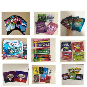أدوات Edibles Bag Nerds Rope Bites Dank Runtz Gummies Wonka Erllli Gasco STR Gushers Wears Heads