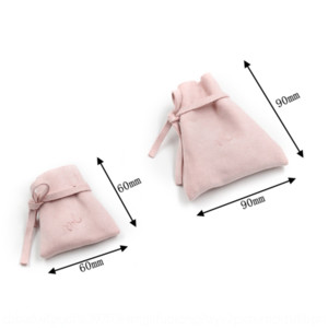 Eju0p 9 9cm stationery Velvet Bag Drawstring pocket Stationery Earrings earringshigh grade Jewelry Earring Jewelry Bag