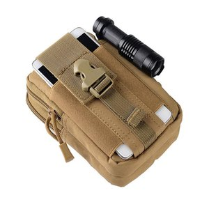 Multifunction High Capacity Tactical Men Sport Waist Bag Waterproof Running Bag Camping Fanny Pack For phone Coin Purse