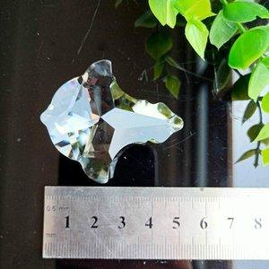 50mm Klare Kristalle Perle Vorhang Anhänger Kronleuchter Kristalle Prismen Suncatcher Hängende Verzierung Dekor Kristall Lampe Zubehör H Jllzsz