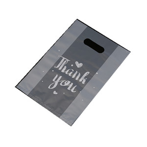 Obrigado embrulhar presente plástico engrossar de cozimento bolsa de embalagem pão doces bolo recipiente de alimentos sacos nova chegada 37 38gy l2