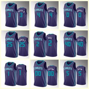 МужчиныШарлоттаHornets Mater Ball Devonte Graham Terry Rozier Баскетбольные майки могут быть настроены горячим прессованием