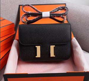 19cm 24cm Cowskin ESPOM Sacs en cuir véritable Sac de mode Sac à bandoulière Femmes Sacs Femmes Lady Sac à main usine 0022
