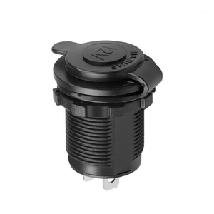 Auto Car 12V Waterproof Car Boat Motorcycle Cigarette Lighter Cigarette Lighter Socket Sockets Splitter Power Plug Outlet1