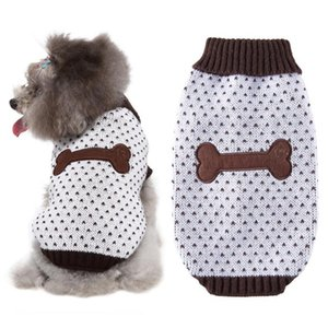 Puppy Clothes Dog Sweater Sweatshirt Winter Jacket Clothing for Small Dogs Chihuahua Christmas Costume Coat Knitting Jersey
