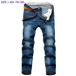 2020 New Jeans Men's Full Length Pants High Quality Cotton Jeans Drect Sell Extra Large Man Super Big Plus Size 28-42 44 46 481
