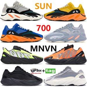 جديد الشمس مشرق الأزرق عداء 700 v1 v2 الاحذية العاكسة og الصلبة الرمادي الجمود البرتقالي فائدة الأسود ثابت كرة السلة حذاء