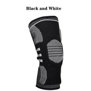 Factory Direct Sales 1PCS Compression Knee Pads Elastic Knee Pads Support Spring Fitness Sports Basketball Volleyball Running