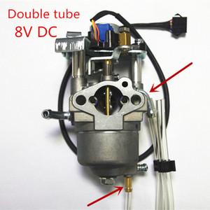 Карбруторская двойная трубка с 24бой28 ступенчатым мотором 8 В постоянного тока подходит для Yamaha MZ80 148F 144F инвертор генератор инвертора карбюратор