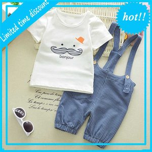 BIBICOLA BOY SETS SUMENT 2020 NOUVELL ARRIVÉE BEBONE BEBE BEBE SET T-Shirt + Broek Baby Vêtements
