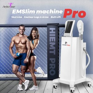 Hiemt Pro Fat Burning Machine Beauty Electromagnetic Build Muscle Fat Teling Sliume Device CE FDA утвержден