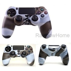 Case PlayStation Silicone Cover for Protective Dualshock 4 PS5 PS4 PS3 Xbox ONE 360 Controller Camouflage Sleeve