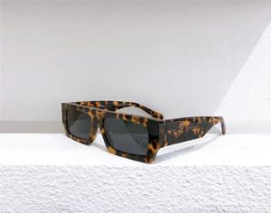 40008U الأزياء الجديدة الرجال النظارات الشمسية مربع كامل إطار نظارات بسيطة المرأة شعبية نمط العدسات الليزر أعلى جودة uv400