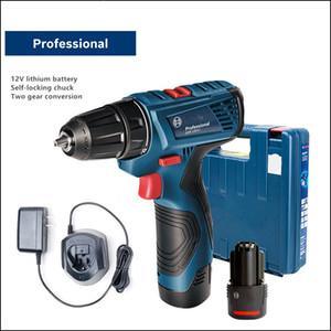Broca elétrica com bateria de lítio sem fio elétrico chave de fenda recarregável ferramentas elétricas sem fio ferramentas elétricas