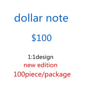 2020 Hot Sale Counterfeit 100 Dollars Fake Money Banknotes Prop Money Paper Toy Banknote Bar Atmosphere Stage Birthday Party 23