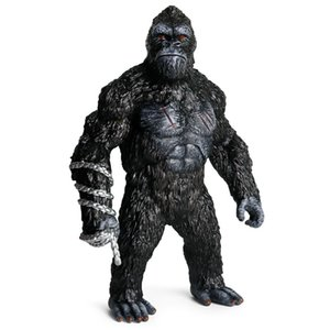 KingKong Figure 12inch 31cm The Apes Gorilla Action Figures Giant Orangutan Collectible Resin Model Toys