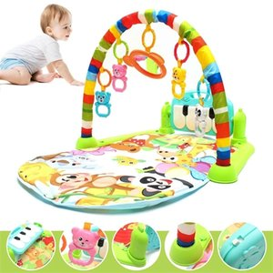 Baby Music Rack Play Mat Kid Rug Puzzle Carpet Piano Keyboard Infant Playmat Early Education Gym Crawling Game Pad Toy Q1120