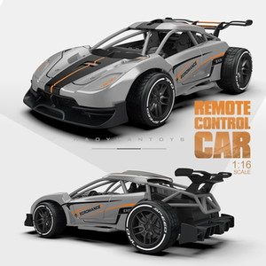 Infant Shining Mini Electric 16:1 Updated Version 2.4G Remote Control Toys 5-7 Years Kids RC Toy Car for Boys 201218