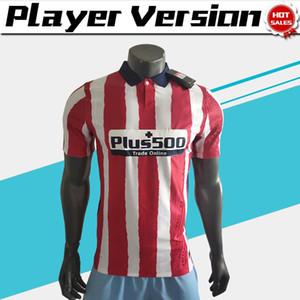 player version 20-21 Madrid Soccer Jerseys #7 JOÃO FÉLIX #9 MORATA 2020 Men home Soccer shirt Customized Football uniforms