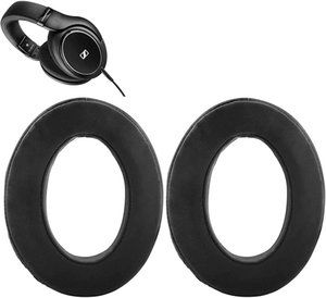 HD598 Earpads Replacement HD598 Ear Pads Cushions Kit Parts Compatible with Sennheiser HD 598 Cs Closed Back Headphone.(Matte Black)