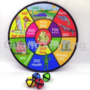 36CM Dart Board Toy Cloth Glued Target Game with 4pcs slimeball TSP4979A