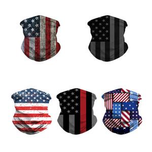 Национальный флаг Печать Bandanas Мужчины Женщины Потенья поглощение Волшебные шарфы наружные движения шеи гайтер лица щит 6 мд j2