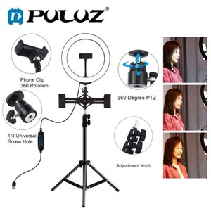 PULUZ Foto Lamp Selfie Light Ring Photography Led Photographic Lighting Ring Lamp Maquiagem Profissional Completa Video Light