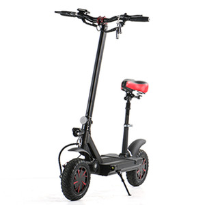 Electric Scooter Bike 2 Wheels Electric Bicycles 10 inch 60V 3600W Speed 70KM H Ecorider E4-9 Folding Powerful Electric Bicycle For Adults