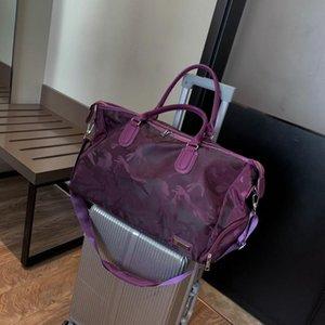 New Style Ladies'one-Ombro Bolsa Impresso Handbag Men's Leisure Travel Mochila Grande Capacidade