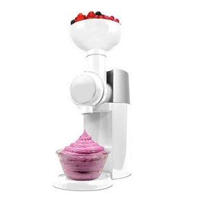 Sobremesa congelada automática eco-friendly DIY fabricante de frutas Milkshake máquina de sorvete com plug