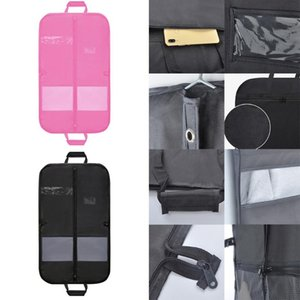 Сумки для хранения 2021 мужские путешествия бизнес-мешок костюм одежда с четким окном кармана молния кармана длинная капля # 91938