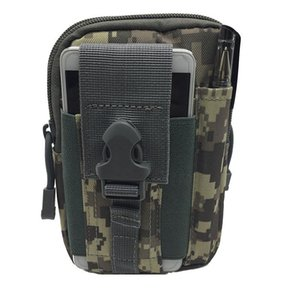 Tactical Men Waist Pack Nylon Hiking Water Bottle Phone Pouch Outdoor Sports Hunting Climbing Camping Belt Bag