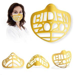 3D Yüz Uzay Yüz Inners Silikon Destek Çerçevesi Yüz Parantez Ruj Koruma Aksesuarları EWC3730 Maskesi Nefes İç Biden Maske