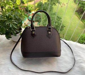 Borsa da donna di alta qualità Borsa da donna Alma BB Shell Sacchetto di lusso Maniglia di lusso Damier Damier Ebene Borsa a tracolla BAG BATTER BAG BAG BAG BAG BAGS