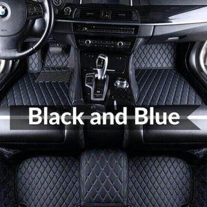 Автоковеты пользовательских подходящих автомобилей пола монтажный коврик специфический водонепроницаемый PU кожаный экологически чистый материал для внедорожника Автомобильный мат 015