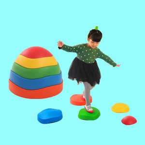 Kids game Crossing the River Stone Kindergarten Children Stepping Stone Indoor Outdoor Balance Training Sports Toy Gift For Kids