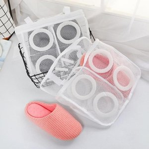 1Pcs Shoes Washing Hanging Bag Home Laundry Using Clothes Wash Mesh Sneaker Bags Dry Net Underwear Protect Shoes Bags Cleani1