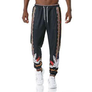Fashion Mens Jogger Pants Pattern Printed 3D Long Pants Casual Drawstring Sweatpants 2021 New Design Pants