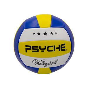 PSYCHE Machine Stitched Standard No. 5 PVC Volleyball