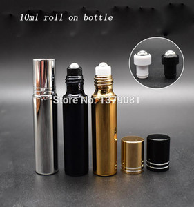 15 30 pcs 10ML Empty Glass Roll On Bottle For Essential Oils,Refillable Perfume Containers With Stainless Steel Roller Ball.