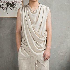 Traditionelles chinesisches Kleid Männer Cheongsam Shaolin Uniform Zen Kleidung Outfit Asiatische Kleidung Marken 3823 Y A1