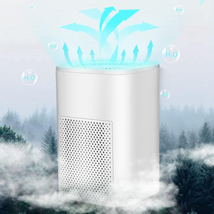 ShuuiRui Home Portable Mini Air Purifier USB Cable & Dual Power Air Cleaner Anion Ionizer Negative Ion Generator Ozone Generator