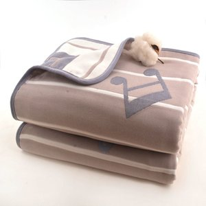 عالية الجودة الشاش غطاء لحاف الصيف الطفل متعددة الوظائف للأطفال بطانيات ورقة امتصاص العرق القطن الفراش الأطفال حديثي الولادة منشفة حمام Q1117