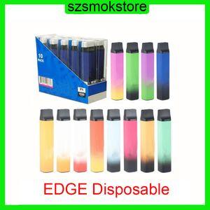 Hyde Edge Dispositivo de vaina desechable 1100mAh Batería 1500 Puffs 6ml Capacidad Vape Vape Pen vs Barra de aire Kangvape Onee Stick 0268185-1