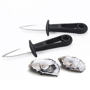 قذائف فتاحة المحار سكين الطازجة المحار المأكولات البحرية أداة مفتوحة الأسقلوب سكين الفولاذ المقاوم للصدأ المهنية شواء shaching shurfish dhc3839